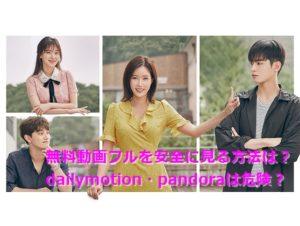 私のIDはカンナム美人無料動画フル日本語字幕1話~最終話はdailymotionやpandoraで見るのは超危険?